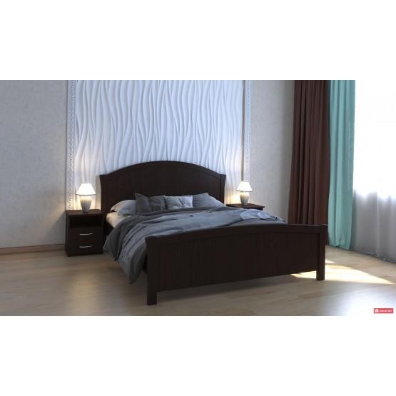 Деревянная кровать Анжелика