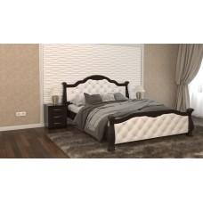 Деревянная кровать Татьяна люкс премиум