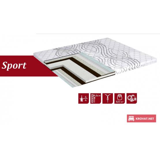 Тонкий матрас-топпер SPORT DREAM LINE / Спорт Дрим Лайн ➤ ТМ Simpler ➤ матрасы для дивана
