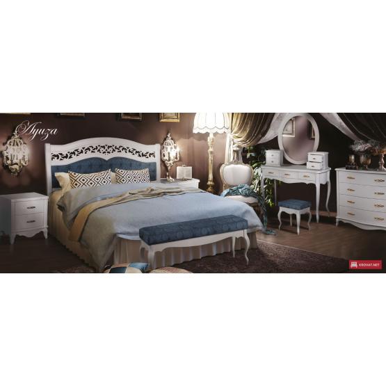 Деревянная кровать Луиза
