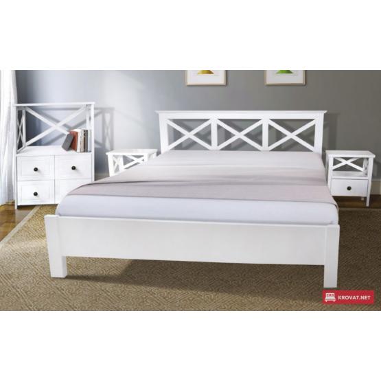 Деревянная кровать Валерия