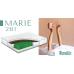 Ортопедический пружинный матрас MARIE 2 в 1 Famille / Мари 2в1 Фэмили ➤ с койрой и усиленными пружинами Pocket Spring ➤ТМ Simpler № 5
