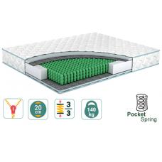 Ортопедический пружинный матрас SANTE Famille / Санте Фэмили ➤ с усиленными пружинами Pocket Spring ➤ТМ Simpler