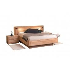 Двуспальная деревянная кровать НИКОЛЕТТА ТМ ТеМП