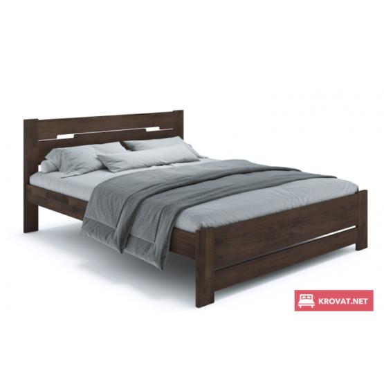 Деревянная кровать СИНТИЯ ТМ ТеМП (щит бука)