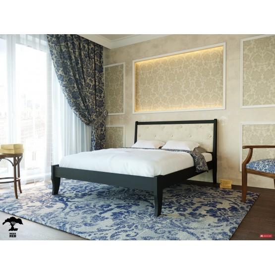 Деревянная кровать Монако
