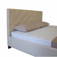 Кровать АДЕЛЬ МЕЛБИ двуспальная, в мягкой обивке ★ размерный ряд - от 140х190 см ★ подъемный механизм (опционально)