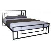 Двуспальная    полуторная кровать АСТРА МЕЛБИ ★ размерный ряд - от 120х190 ★металлическая кровать с ортопедическим основанием