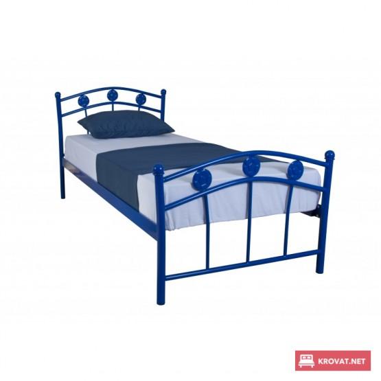 Детская металлическая кровать Чемпион