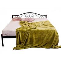 Двуспальная    полуторная кровать ЭЛИС МЕЛБИ ★ размерный ряд - от 120х190 ★металлическая кровать с ортопедическим основанием