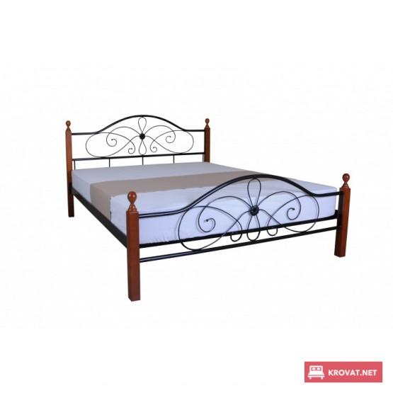 Металлическая кровать Фелиция Вуд