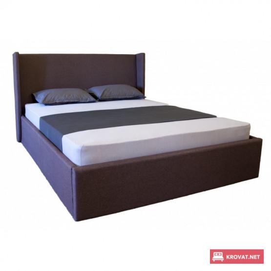 Кровать КЕЛЛИ МЕЛБИ мягкая полуторная, двуспальная ★ размерный ряд - от 120х190 см ★ подъемный механизм (опционально)