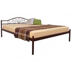 Двуспальная || полуторная кровать ЛАРА МЕЛБИ ★ размерный ряд - от 120х190 ★металлическая кровать с ортопедическим основанием