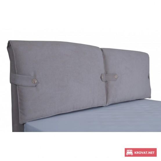 Кровать МИШЕЛЬ МЕЛБИ мягкая полуторная, двуспальная ★ размерный ряд - от 120х190 см ★ подъемный механизм (опционально)