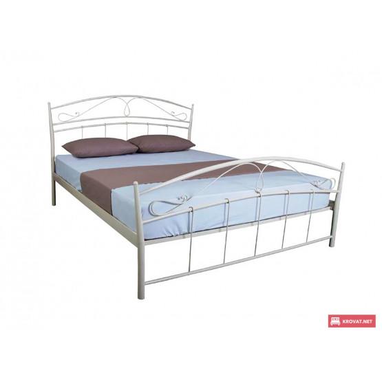 Двуспальная || полуторная кровать СЕЛЕНА МЕЛБИ ★ размерный ряд - от 120х190 ★металлическая кровать с ортопедическим основанием