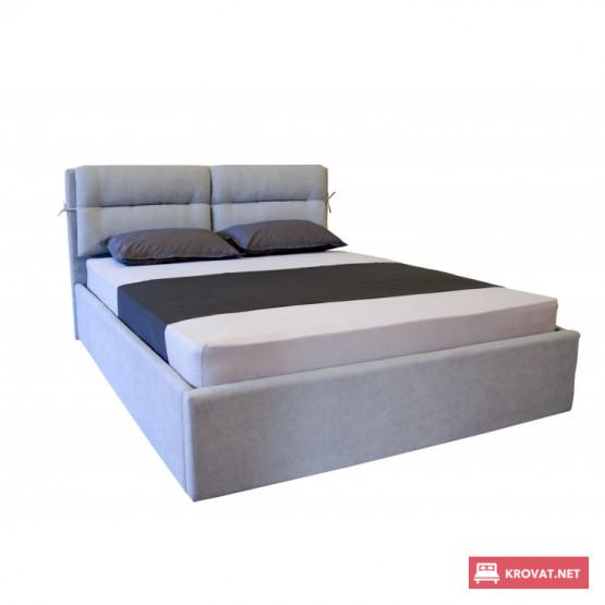 Кровать СОФИ  МЕЛБИ мягкая полуторная, двуспальная ★ размерный ряд - от 120х190 см ★ подъемный механизм (опционально)