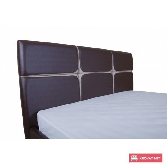 Кровать СТЕЛЛА МЕЛБИ мягкая с подъемным механизмом ★ размерный ряд - от 140х190 см ★ высокое изголовье