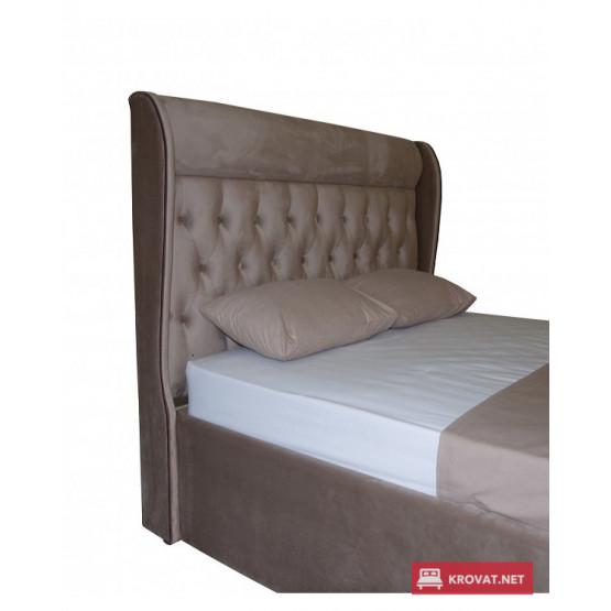 Односпальная кровать ТИФФАНИ МЕЛБИ с подъемным механизмом ★ размерный ряд -  80х190, 90х190, 90х190, 90х200 см ★ в мягкой обивке