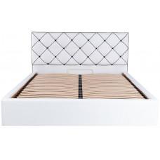 Двуспальная кровать МЕЛИСА Richman в мягкой обивке ➤ размерный ряд - от 140х190 см ➤ подъемный механизм опционально