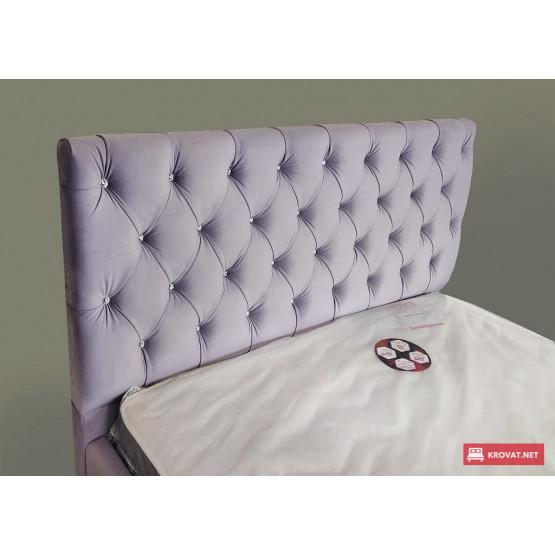 Кровать с мягким изголовьем АРИЗОНА тм NBB с подъемным механизмом (газ-лифт)
