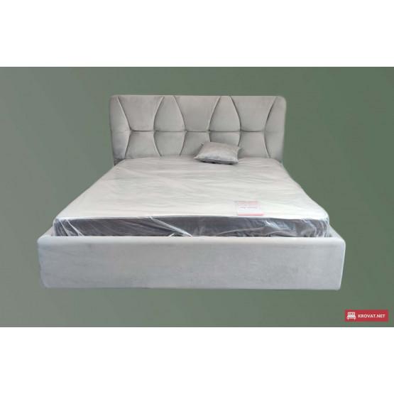 Мягкая кровать ГАЛАНТ тм NBB с подъемным механизмом и высоким изголовьем (обивка съемная)