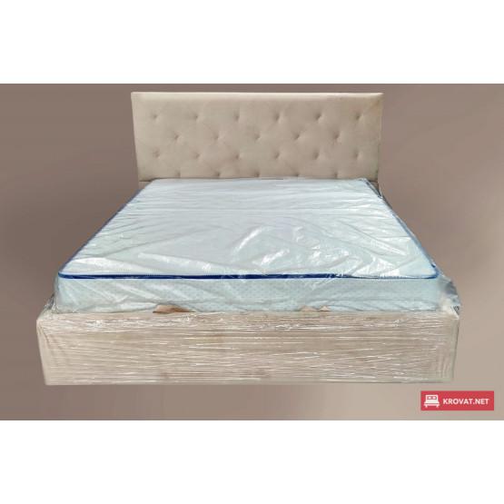 Кровать в мягкой обивке ЛЕАНДРА тм NBB с подъемным механизмом