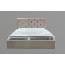 Кровать с мягким изголовьем ОКТАВИУС тм NBB и подъемным механизмом (обита тканью)