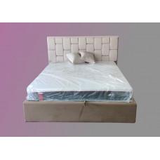 Кровать с мягким изголовьем РОЯЛ тм NBB и подъемным механизмом (обита тканью)