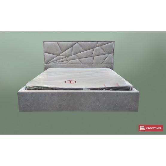 Мягкая подъемная кровать ТРИНИДАД тм NBB с нишей для белья и съемной обивкой