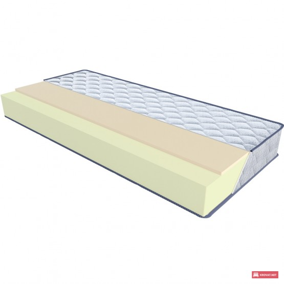 Беспружинный ортопедический матрас OZON / Озон ТМ Sleep&Fly Silver Edition
