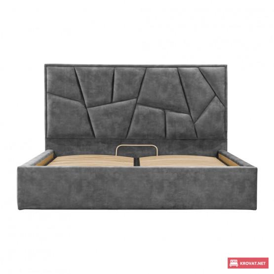 Мягкая двуспальная кровать МЕГА Richman ➤ размерный ряд - от 140х190 см ➤ подъемный механизм опционально