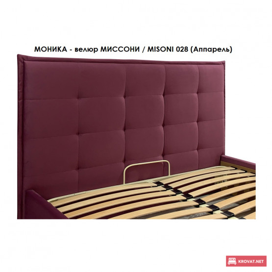 Кровать в мягкой обивке МОНИКА тм Richman ➤ размерный ряд - от 120х190 см ➤ полуторные    двуспальные