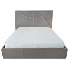Двуспальная семейная кровать МОНРО Richman 160х190 // 160х200 ➤ с подъемным механизмом (опционально) ➤ высокое мягкое изголовье 130 см