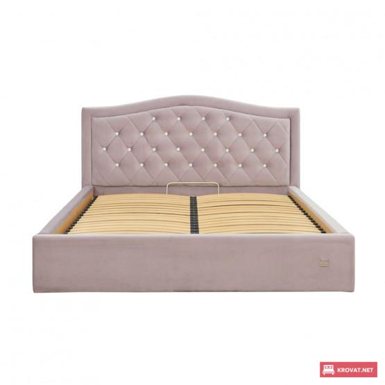Двуспальная кровать СКАРЛЕТТ Richman ➤ размерный ряд - от 140х190 см ➤ подъемный механизм (опционально)