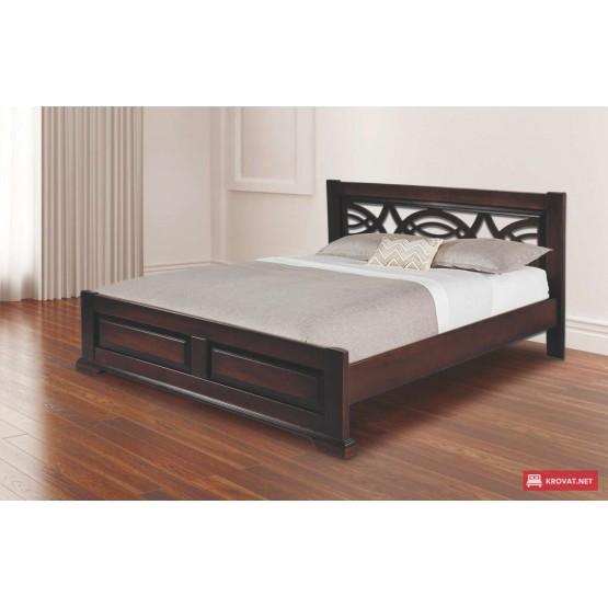 Деревянная кровать Женева