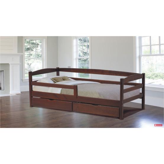 Детская деревянная кровать Уно
